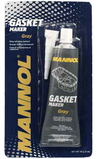 серый силиконовый герметик Mannol 9913 Gasket maker GREY