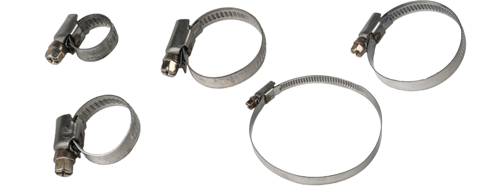 Хомуты SCT Steinless Steel Hose Clamps