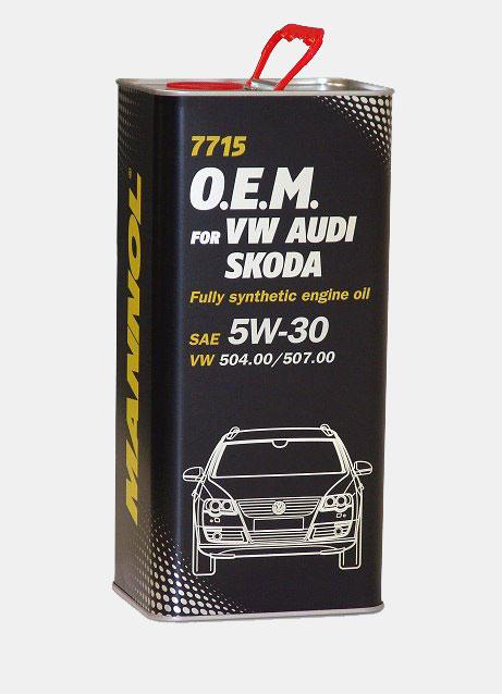 7715 O.E.M. VW AUDI SKODA 5W-30