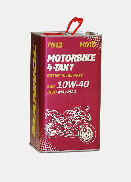 MANNOL 7812 4-Takt Motorbike 10W-40